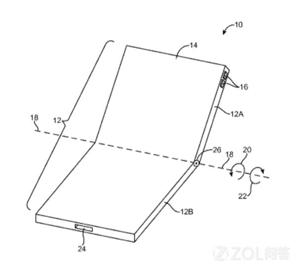 iPhone8的屏幕可以折叠起来?