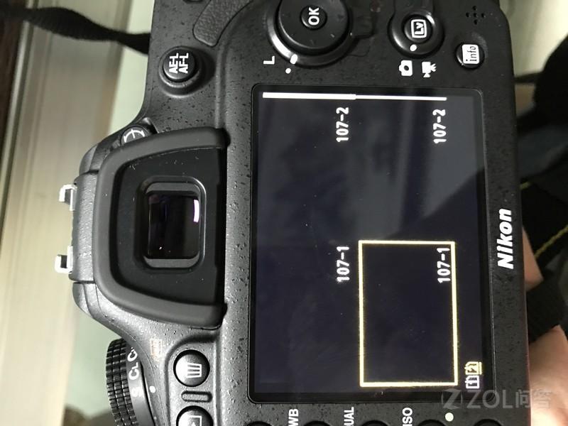 今天刚买了一台尼康D7200相机,满怀高兴的装好,搞好。结果不知为毛拍...